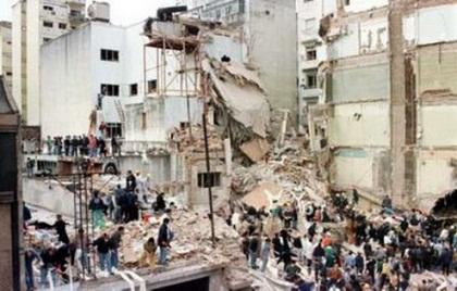 عکس انفجار دفتر حزب جمهوری اسلامی ایران