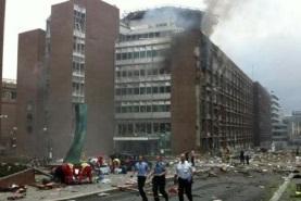 عکس انفجار دفتر نخست وزیری
