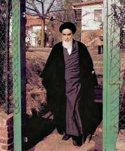 امام خمینی در نوفل لوشاتو